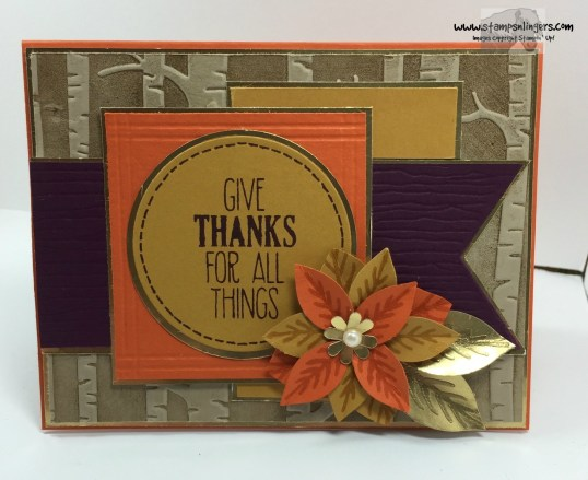 Give Thanks For All Things 1 - Stamps-N-Lingers