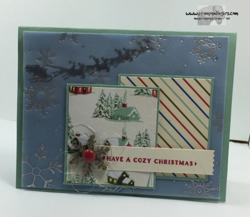 Home for Cozy Christmas 2 - Stamps-N-Lingers