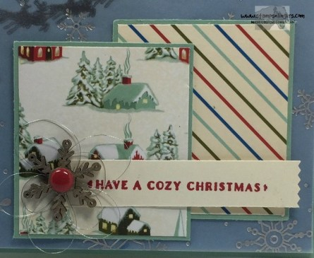 Home for Cozy Christmas 4 - Stamps-N-Lingers
