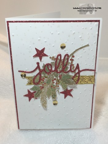Jolly Holly Christmas 1 - Stamps-N-Lingers