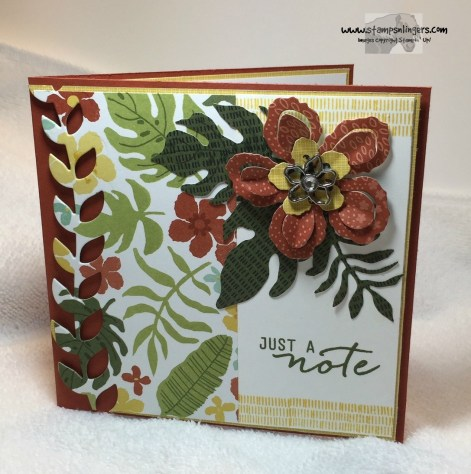 Just a Botanical Note 1 - Stamps-N-Lingers