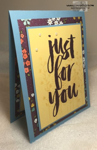 Just For You Botanical 2 - Stamps-N-Lingers