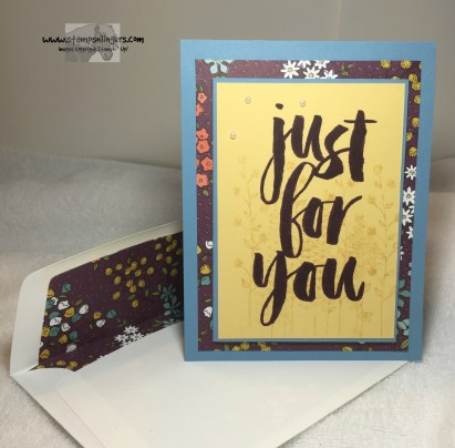 Just For You Botanical 6 - Stamps-N-Lingers