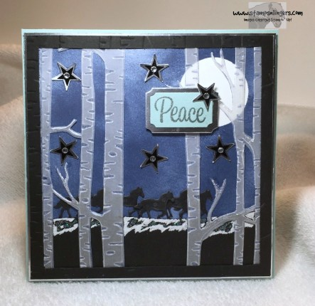 Peaceful Woodland Run 1 - Stamps-N-Lingers