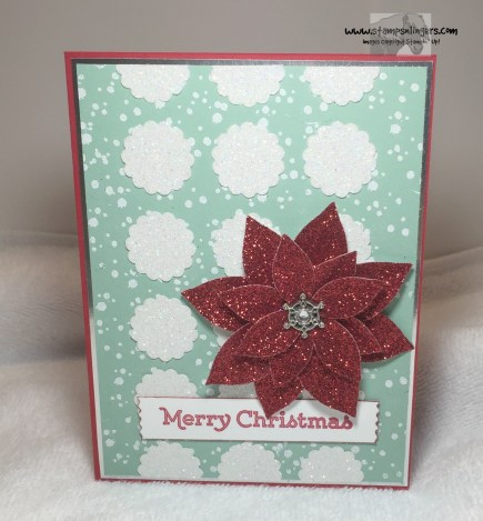 Versatile Christmas Poinsettia 3 - Stamps-N-Lingers