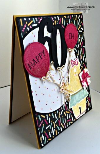 Bear Hug Birthday Balloons 3 - Stamps-N-Lingers