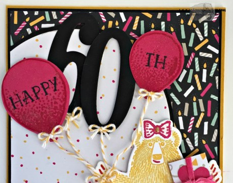 Bear Hug Birthday Balloons 4 - Stamps-N-Lingers