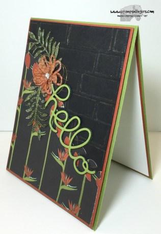 Botanical Hello 2 - Stamps-N-Lingers
