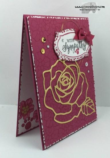 Rose Wonder Sympathy 2 - Stamps-N-Lingers