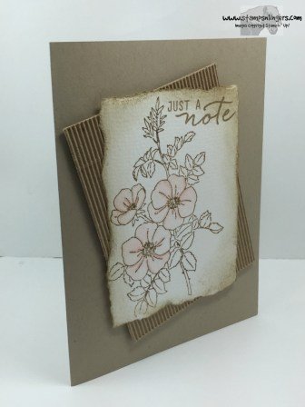 Sweetbriar Rose Just a Note 3 - Stamps-N-Lingers