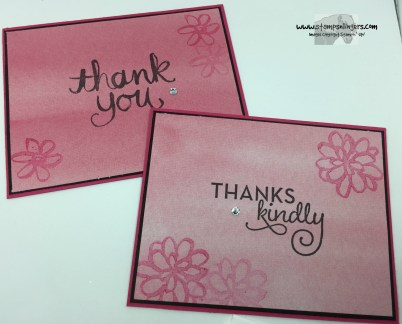 Thank You Cards 2 - Stamps-N-Lingers