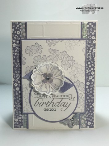 Beautiful Birthday Blossoms 1 - Stamps-N-Lingers