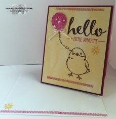 Hello Little Sunshine 6 - Stamps-N-Lingers