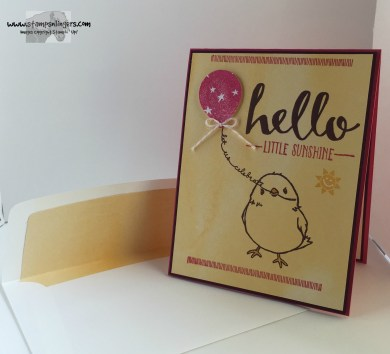 Hello Little Sunshine 7 - Stamps-N-Lingers