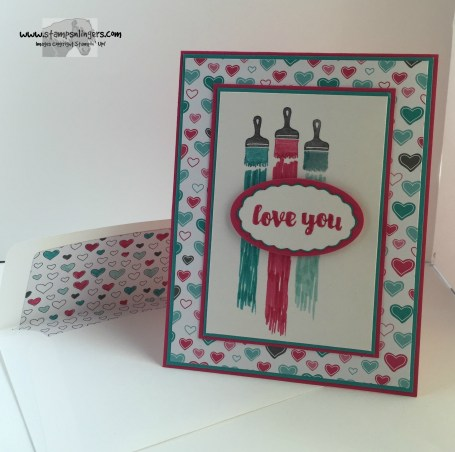 Love You Sew Let's Paint the Town 7 - Stamps-N-Lingers