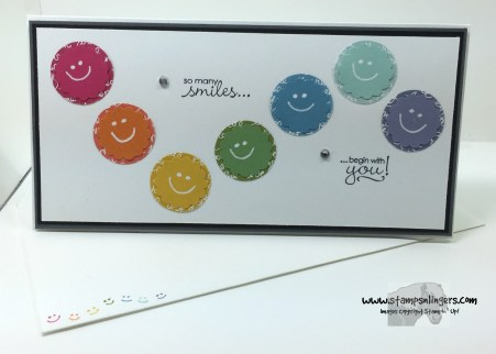 Petite Pairs Smiley Thanks 5 - Stamps-N-Lingers