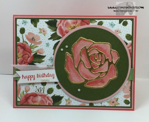 Rose Garden Happy Birthday 1 - Stamps-N-Lingers