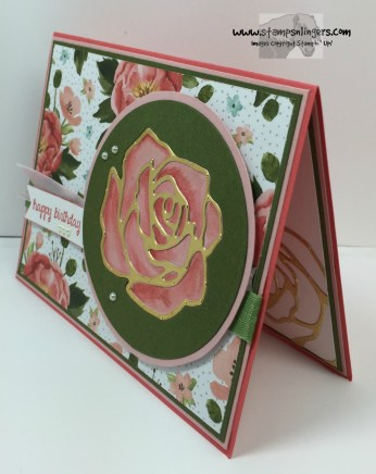 Rose Garden Happy Birthday 2 - Stamps-N-Lingers