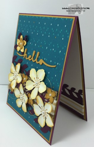 Botanical Builder Hello 4 - Stamps-N-Lingers