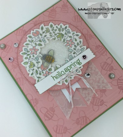 Circle of Spring Garden 3 - Stamps-N-Lingers