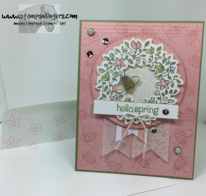 Circle of Spring Garden 9 - Stamps-N-Lingers