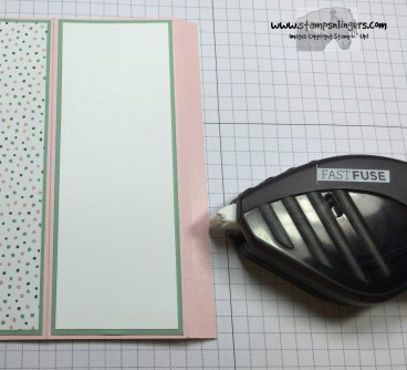 Four Panel Fun Fold 11 - Stamps-N-Lingers