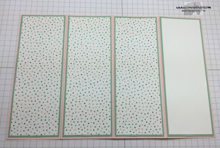 Four Panel Fun Fold 7 - Stamps-N-Lingers
