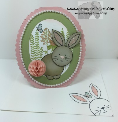 Friends & Flowers Easter Bunny 11 - Stamps-N-Lingers