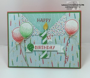 Large Numbers Balloon Celebration 1 - Stamps-N-Lingers