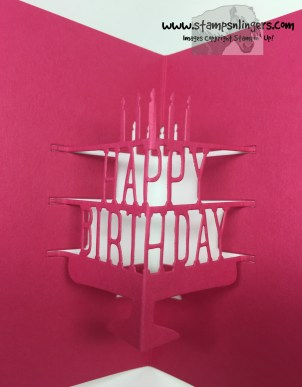 Party With Cake Birthday Wishes 7 - Stamps-N-Lingers