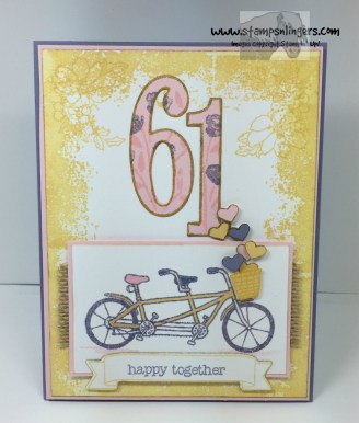 Pedal Pusher Years Anniversary 1 - Stamps-N-Lingers