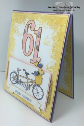 Pedal Pusher Years Anniversary 5 - Stamps-N-Lingers