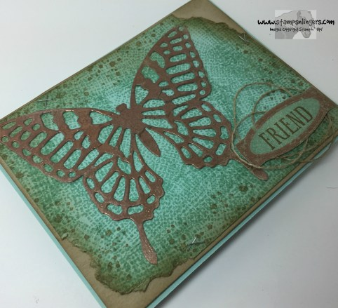 Awesomely Artistic Copper Butterfly 4 - Stamps-N-Lingers