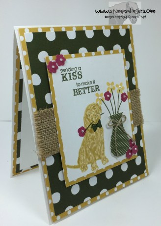 Floral Wings Petite Pairs Get Well 2 - Stamps-N-Lingers