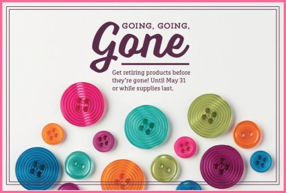 Going Gone Buttons