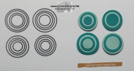 Layering Circles - Stamps-N-Lingers