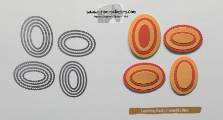 Layering Ovals - Stamps-N-Lingers