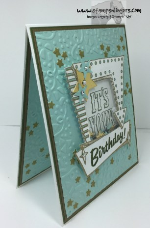 Marquee Messages Shaker Birthday 2 - Stamps-N-Lingers