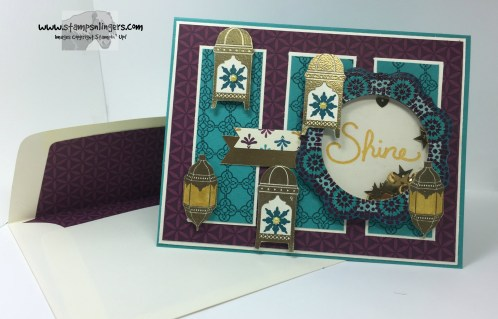 Moroccan Nights Shaker Congrats 9 - Stamps-N-Lingers