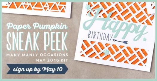 Paper Pumpkin May