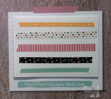 Playful Palette Designer Washi - Stamps-N-Lingers