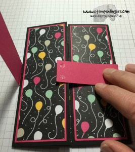 Shutter Fold Tutorial 14 - Stamps-N-Lingers