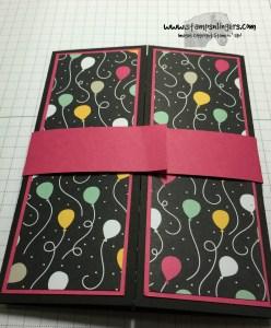 Shutter Fold Tutorial 15 - Stamps-N-Lingers