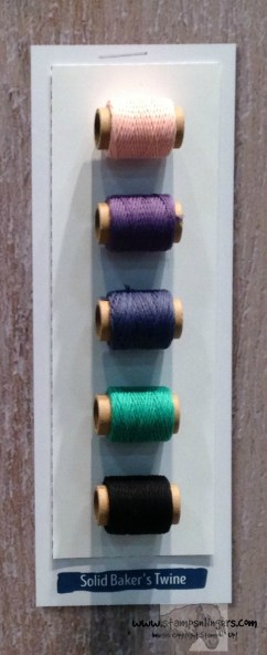 Solid Baker's Twine - Stamps-N-Lingers