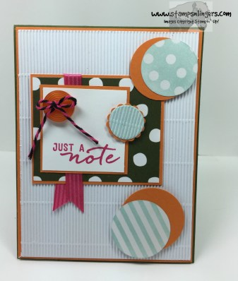 Watercolor Wishes Just a Note 1 - Stamps-N-Lingers