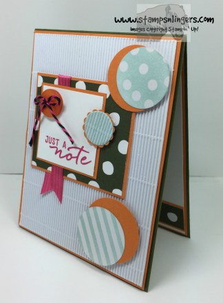 Watercolor Wishes Just a Note 3 - Stamps-N-Lingers