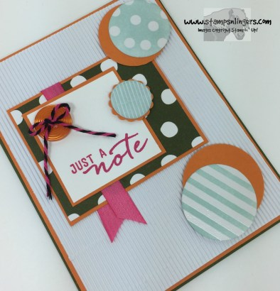 Watercolor Wishes Just a Note 4 - Stamps-N-Lingers