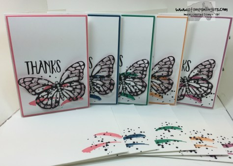 2016-2018 In Color Butterflies 1 - Stamps-N-Lingers