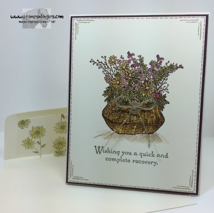 Basket For You Get Well 7 - Stamps-N-Lingers