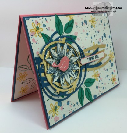 Grateful Bunch Swirly Bird 2 - Stamps-N-Lingers